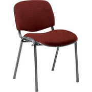 Global Custom Deluxe Stacking Chair, Tomato, Ultra-Premium Grade