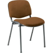 Global Custom Deluxe Stacking Chair, Ochre, Ultra-Premium Grade