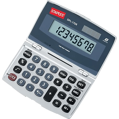 Staples SPL-170X 8-Digit Display Calculator