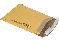 Staples® QuickStrip™ Padded Mailers, #1, 7-1/8' x 10-3/4'