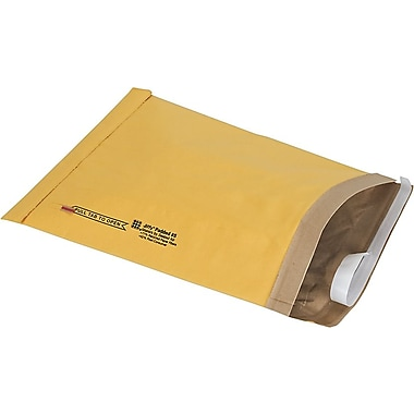 Staples® QuickStrip Padded Mailers, #5, 10-3/8in. x 14-3/4in.