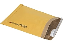 Staples® QuickStrip™ Padded Mailers, #6, 12-3/8' x 17-3/4'