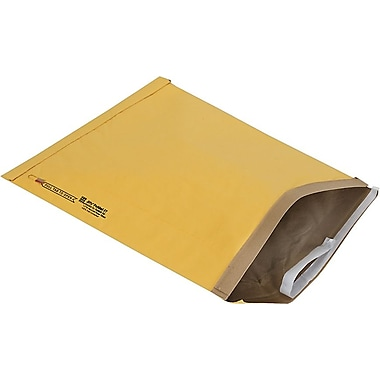 Staples® QuickStrip Padded Mailers, #7, 14-1/8in. x 18-3/4in.