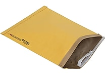 Staples® QuickStrip™ Padded Mailers, #7, 14-1/8' x 18-3/4'