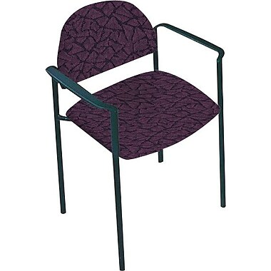 Global Custom Comet Stacking Reception Chair with Arms, Tempest, Premium Grade