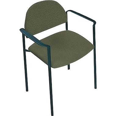Global Custom Comet Stacking Reception Chair with Arms, Jade, Ultra-Premium Grade