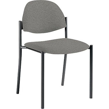 Global Custom Comet Stacking Reception Chair without Arms, Slate, Premium Grade