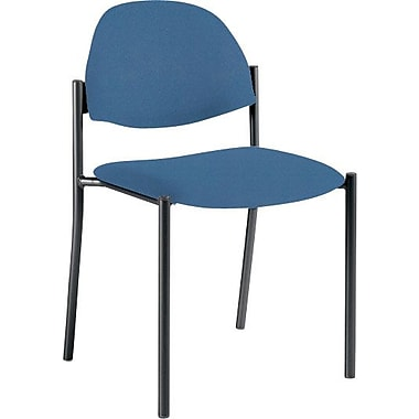 Global Custom Comet Stacking Reception Chair without Arms, Admiral, Premium Grade