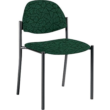 Global Custom Comet Stacking Reception Chair without Arms, Cypress, Premium Grade