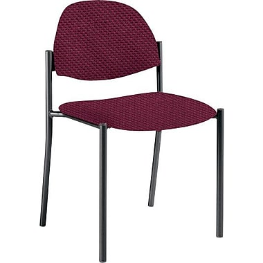 Global Custom Comet Stacking Reception Chair without Arms, Cherry Fields, Ultra-Premium Grade