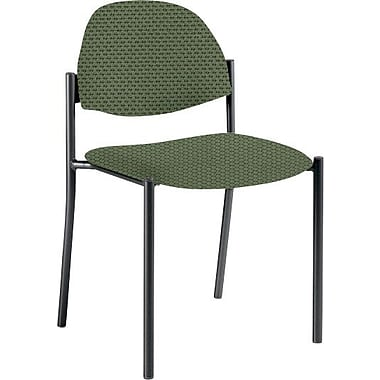 Global Custom Comet Stacking Reception Chair without Arms, Leaf, Ultra-Premium Grade
