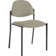 Global Custom Comet Stacking Reception Chair without Arms, Melon, Ultra-Premium Grade