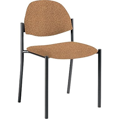 Global Custom Comet Stacking Reception Chair without Arms, Acorn, Ultra-Premium Grade