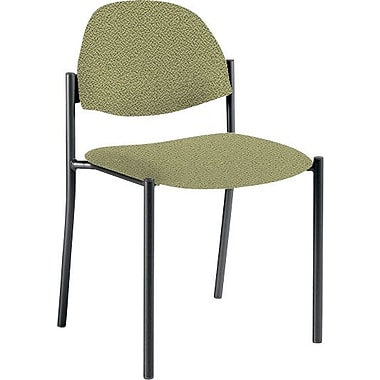 Global Custom Comet Stacking Reception Chair without Arms, Verdant, Ultra-Premium Grade