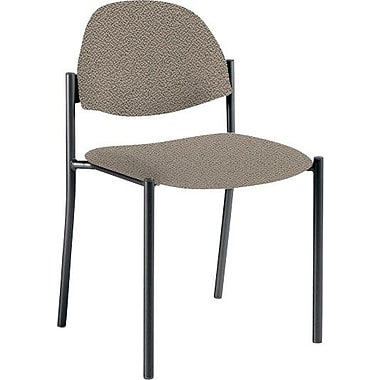 Global Custom Comet Stacking Reception Chair without Arms, Camel, Ultra-Premium Grade