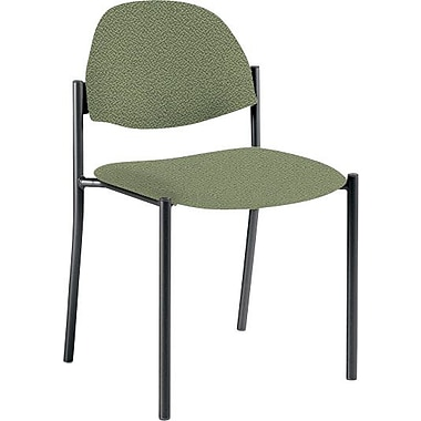 Global Custom Comet Stacking Reception Chair without Arms, Jade, Ultra-Premium Grade