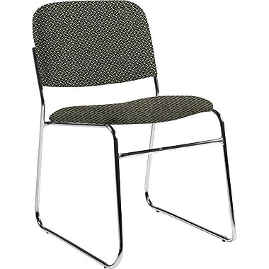 Global Custom Chrome Stack Chair, Seaside, Premium Grade