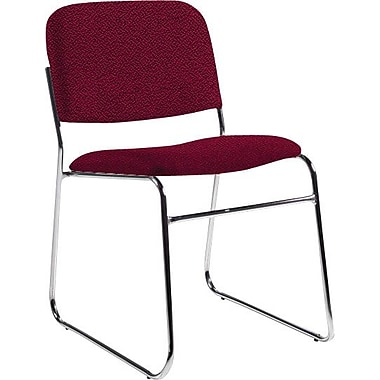 Global Custom Chrome Stack Chair, Shiraz, Ultra-Premium Grade