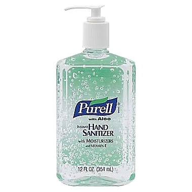 Purell® Instant Hand Sanitizer with Aloe, 12 oz.