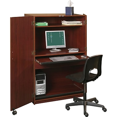 Balt Office in a Box All-in-One Workstation, Mahogany (89832)