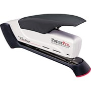 ACI PaperPro™ Prodigy™ Spring Powered Stapler, 25-Sheets Capacity/20 lb., Gray/Black