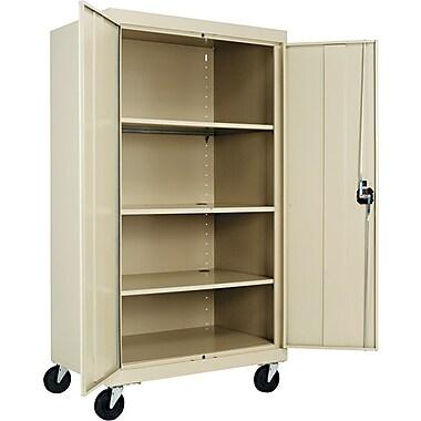 Alera® Enclosed Mobile AV Cabinet