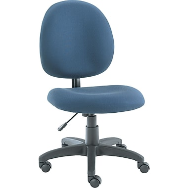 Alera® Acrylic Swivel Task Chair, Blue