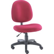 Alera® Acrylic Swivel Task Chair, Burgundy
