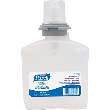 Purell® TFX Instant Hand Sanitizer, Foam, Refill, 1,200 ml.