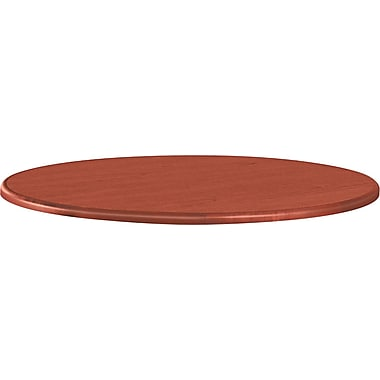 HON 10700 Series Round Table Top, 42in. Diameter, Henna Cherry