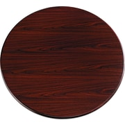 "HON® 10700 Series Round Table Top, 42"" Diameter, Mahogany"