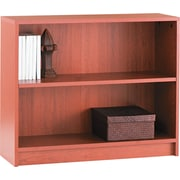 HON® 1870 Series Wood Laminate Bookcases - 2-Shelf, Henna Cherry