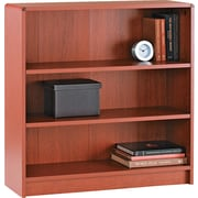HON® 1890 Series Wood Laminate Bookcases - 3-Shelf, Henna Cherry