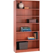 HON® 1890 Series Wood Laminate Bookcases - 6-Shelf, 72, Henna Cherry
