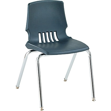 HON ® Proficiency ® Poly Stackable Student Shell Chair, Lava