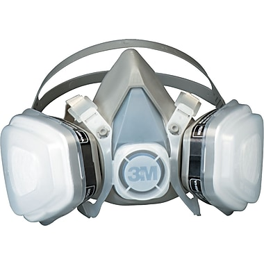 3M Dual-Cartridge Respirator Assembly 52P71, Organic Vapor/P95