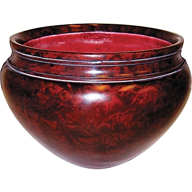 Mahogany Finish Pot for Nu-Dell Artifical Trees