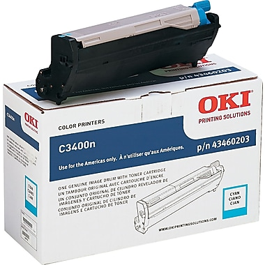 OKI 43460203 Cyan Drum Cartridge