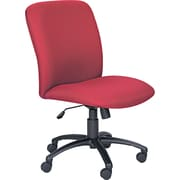 Safco® Uber Big and Tall Fabric High-Back Managers Chair, Burgundy