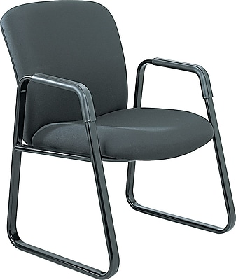 Safco Uber Big and Tall Guest Chair, Black 681040