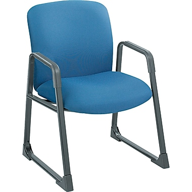 Safco Uber™ Big and Tall Guest Chair, Blue