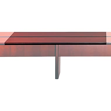 Mayline Corsica Modular Rectangular Conference Room Table Adder, Cherry