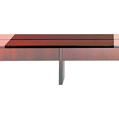 Mayline Corsica Modular Rectangular Conference Room Table Adder, Mahogany