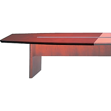 Mayline Corsica Modular Rectangular Conference Room Starter Top, Sierra Cherry