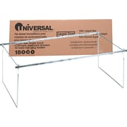 "Universal® Screw-Together Hanging Folder Frame, Stainless Steel, Silver, Legal, 24""-27"" Long (UNV18000)"