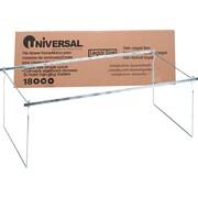 "Universal® Screw-Together Hanging Folder Frame, Stainless Steel, Silver, Legal, 24""-27"" Long (UNV18000)"