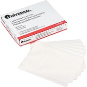 "Universal Clear Laminating Pouches, 3 Mil, 9"" x 11 1/2"", 100/Bx"