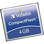 CompactFlash Erasable Memory Card, 4GB
