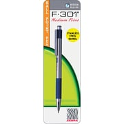 Zebra F-301 Retractable Ballpoint Pen, Medium Point 1.0mm, Blue, Each