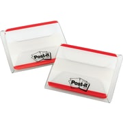 "Post-it® 2"" Red Durable Tabs, 50 Tabs/Pack"